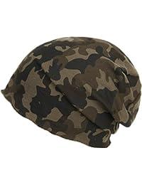 Brooklin Camouflage Oversize Beanie Mütze Oversizemütze Camouflage Mütze Long Beanie Oversize