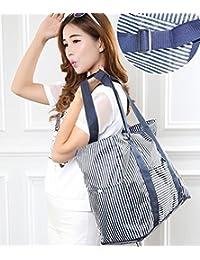 Birud New Lightweight FoldableTravel Bag Large Capacity Waterproof Foldable Big Carry On Luggage Bag - Multi Color
