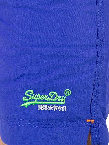 SHORT DE BAIN SUPERDRY PREMIUM WATER POLO Bleu