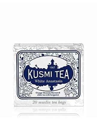 Kusmi Tea - Thé Blanc White Anastasia - Boîte de 20 sachets