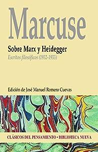 SOBRE MARX Y HEIDEGGER par Herbert Marcuse