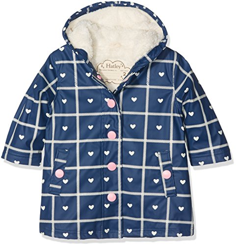 Hatley Girl's Sherpa Splash Rain Jacket