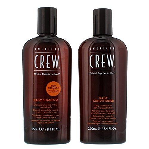 American Crew Groom to Win Daily Shampoo & Daily Conditioner in attraente confezione doppia ad un prezzo imbattibile.