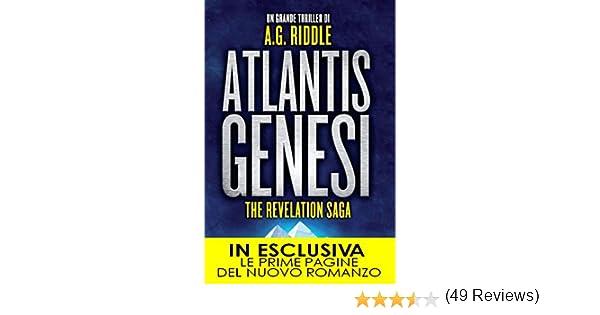 1de779c2a5 Atlantis Genesi (The Revelation Saga Vol. 1) eBook: A.G. Riddle: Amazon.it:  Kindle Store