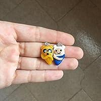 Doppia Collana o Portachiavi Finn e Jake Adventure Time