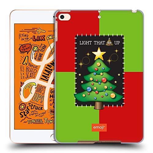 Head Case Designs Offizielle Emoji® Baum Hässliches Weihnachten Harte Rueckseiten Huelle kompatibel mit iPad Mini (2019)