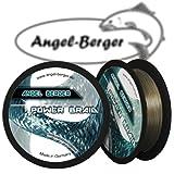 Angel-Berger Power Braid Geflochtene Schnur 100% Dyneema (0.14mm grün)