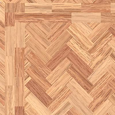 The Dolls House Emporium 'Polished' Parquet Flooring Paper by The Dolls House Emporium - inexpensive UK light store.
