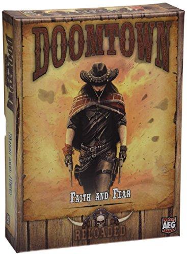 Alderac Entretenimiento ALD05905 - Doomtown expansión Reloaded - La fe y el miedo, juego de mesa