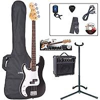 Encore EBP-LHE4BLK Elec. Bass Guitar Outfit Left Hand - Black