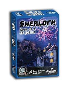 GDM Games- Sherlock Holmes JOC de Carte de investigació (GDM2069)