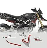 Adesivi Stickers compatibili con moto Aprilia Dorsoduro 750 MOD800