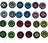 #2: FoxMicro Yellow King's Choice Thumb Grips (4pc) for Xbox One & One S by FOXMICRO Sweat Free 100% Silicone Precision Raised Antislip Rubber Analog Stick Grips For Xbox One Controller (4 grips) -FM