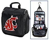 Washington State Toiletry Bag or WSU Cougars Shaving Kit Travel Bags by Broad Bay