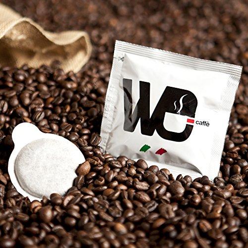 Dosette Ese de Café Espresso We Torréfié en Italie - Goût Puissant (150 Dosettes)