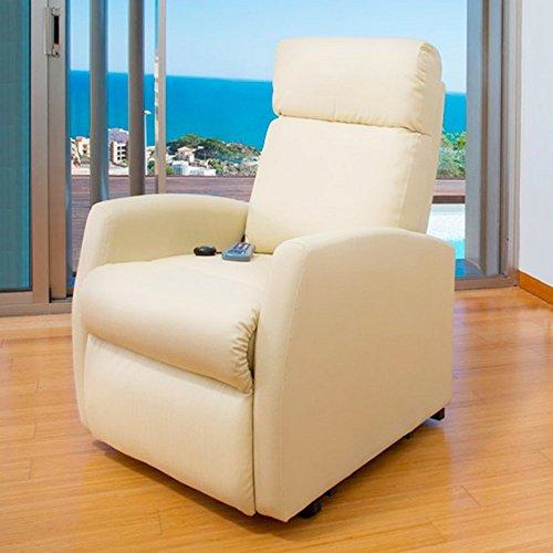 Hightechnology Massagesessel, mit Vibration und Wärmfunktion, 3Positionen, Fußstütze, Shiatsu