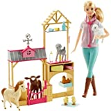 Best Barbie Animal - Barbie Farm Vet Doll and Playset Review