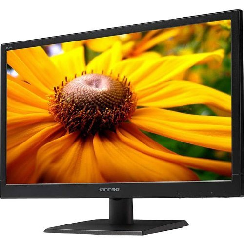 HannsG HL226HPB 21.5 inch Widescreen LED Monitor (80000000:1, 250 cd/m2, 1920 x 1080, 5ms, VGA/DVI/HDMI)