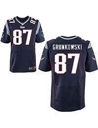87 Rob Gronkowski Trikot New England Patriots Jersey American Football Shirt Mens