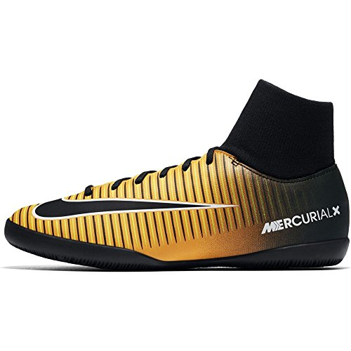 Nike Jr. Mercurial X Victory 6 Dynamic Fit Ic, Scarpe da Calcio Unisex – Bambini LASER ORANGE/BLACK-WHITE-VOLT