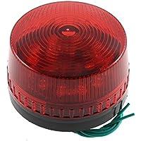 AC 220V Industrial LED Blitz Stroboskop Licht Unfall Warnung Lampe Rot LTE-5061 de