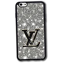 iPhone 6s Plus iPhone 6 Plus Funda Carcasa Case Ultra Slim Vintage Printed Colourful Pattern Antipolvo Brands Logo LOUIS and VUITTON Thin Hard Plastic Tapa for Girls