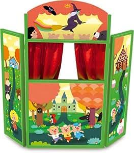 Vilac - 4624 - Théâtre de marionnettes - Les Contes par Mélusine