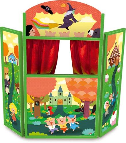 Vilac 4624 - Racconta Le Tue Storie Teatro delle Marionette, Legno