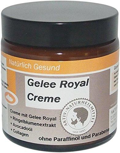 Gelee Royale Hautcreme und Gesichtscreme 100ml | Creme ohne Parabene & Paraffine | Hochwertig & Aus Deutschland | Aktiv Naturheilmittel |