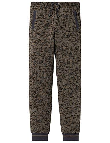 Schiesser Jungen Schlafanzughose Mix & Relax Jerseypants Grün (Oliv 707) 164 (Herstellergröße: M)