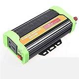 DWAN Portable Auto Power Inverter Hohe Qualität 500 Watt Solar Inverter 12 v 24 v wiederum 220 v Fahrzeug wechselrichter Externe sicherung für Outdoor Camping Kühlschrank Handy Laptop