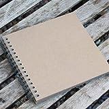 East of India Livre d'or uni/Album marron/papier kraft, style vintage, scrapbooking
