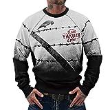 Yakuza Original Herren Read Crow Pullover Sweater
