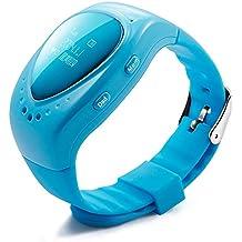 TURNMEON® Smart Watch Reloj Inteligente Para Niños Smart Watch Kids Infantil Pulsera Localizador (GPS, LBS, SOS Llamada SIM Para Android IOS)