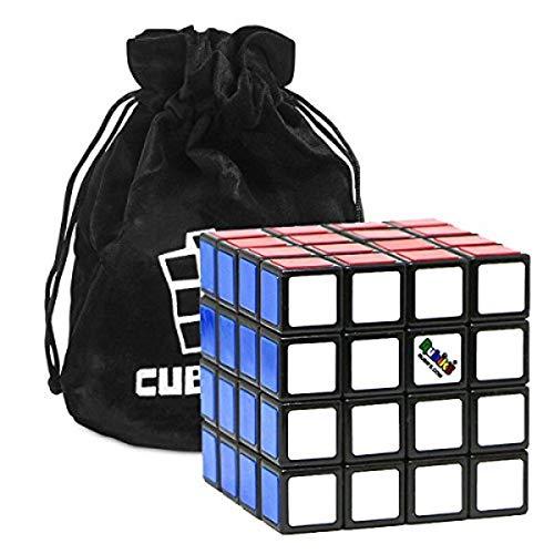Cubikon Original 4x4 Rubik's Cube - 4x4 Zauberwürfel (verbesserte Version) inkl Tasche -