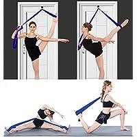 Soga para estiramiento de piernas, obtén más flexibilidad con esta soga de entrenamiento. Equipo de estiramiento premium para ballet, danza, gimnasia, taekwondo y artes marciales mixtas.¡Tu propia máquina de estiramiento portátil! - INPAY