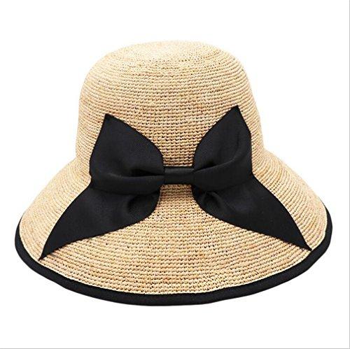 TOP XXX Mode-Sommer-Frauen-Stroh-Cowboy, Der Hut Für Herren-Breiten Brim Boater Panama Jazz Hats Wandert (Hut Herren-stroh-boater)