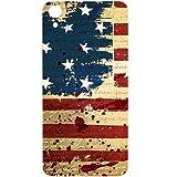 Casotec USA Flag Design Hard Back Case Cover for HTC Desire 826
