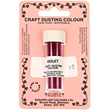 Sugarflair Craft Dusting Colour Powder Dust Decorating Non-Toxic 7 ml - VIOLET