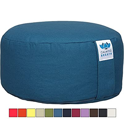 CalmingBreath Organic Yoga Meditation Cushion (Great Colours) É produced by CalmingBreath - quick delivery from UK.