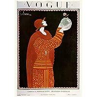 Image of Vintage Vogue Cover September 1923 Poster Art Print - Comparsion Tool