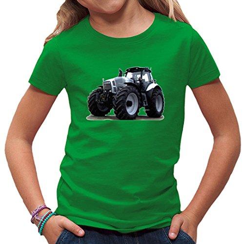 Traktoren Kinder T-Shirt - Traktor Lamborghini R8 270 by Im-Shirt - Kelly Green Kinder 5-6 Jahre - Lamborghini-shirt