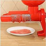HTBSLK Exprimidor de Tomate Saludable Multi-función de batido de Manos Seguro productor de Jugo de Tomate Cocina electrodomésticos para cocinar en casa DIY