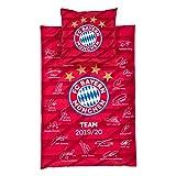 FC Bayern München Bettwäsche Unterschriften