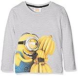 Universal Jungen T-Shirt Minions Banana, Grau (L Grey ION-10013), 2-3 Jahre