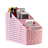 #8: Moradiya Fresh Multi-Purpose Desk Organizer PP Plastic Desktop Storage Box Case Pen Pencil Holder Plastic Cosmetics Make Up Organizer Container