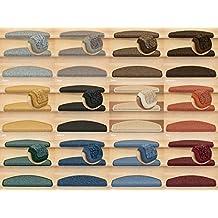 Kettelservice-Metzker Stufenmatten Rambo New Halbrund SparSet incl. Fleckenentferner Taupe 16 Stück