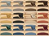 Kettelservice-Metzker® Stufenmatten Treppen-Teppich Rambo 15er SparSet 17 Farben incl. Fleckentferner