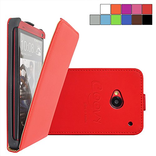 coovyr-slim-flip-cover-shell-housing-protection-case-for-htc-one-m7-with-screen-protector-color-red