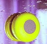 Evotouch-Enceinte Bluetooth Sans fil Portable Stéréo Mini Enceinte étanche Résistant aux éclaboussures 4 Couleurs (Jaune)